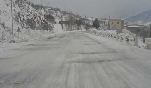 Минтранс Армении предупреждает о тумане и гололеде на ряде автодорог республики