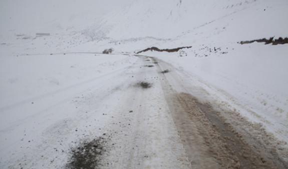Минтранс Армении предупреждает о снеге, тумане и гололеде на дорогах республики
