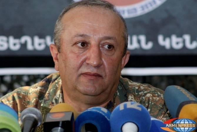 Мовсесу Акопяну присвоено звание генерал-полковника