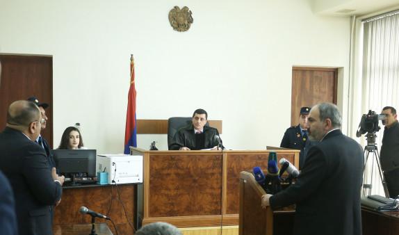 Никол Пашинян дал показания в суде