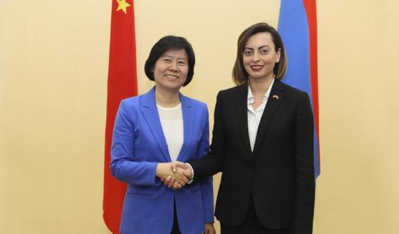 Лена Назарян: Китай – один из важнейших партнеров Армении