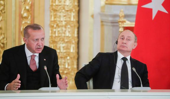Путин рассказал о разногласиях с Турцией по цене на газ