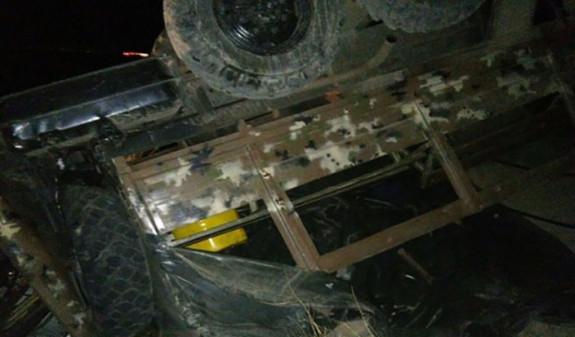 В Армении перевернулся автомобиль Минобороны: госпитализированы 18 военнослужащих
