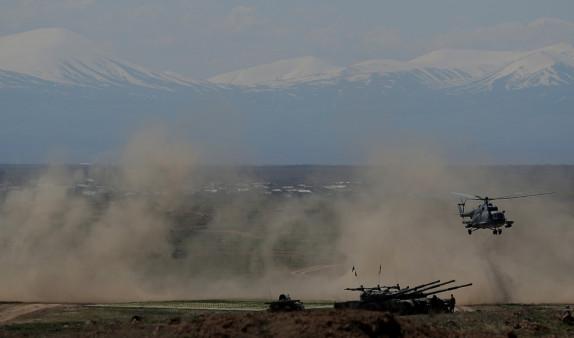 Беспилотники, авиация, бронетехника: на полигоне Баграмян прошли масштабные армяно-российские учения