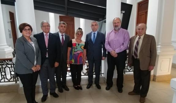 Глава МИД Арцаха в Монтевидео встретился с уругвайскими правозащитниками