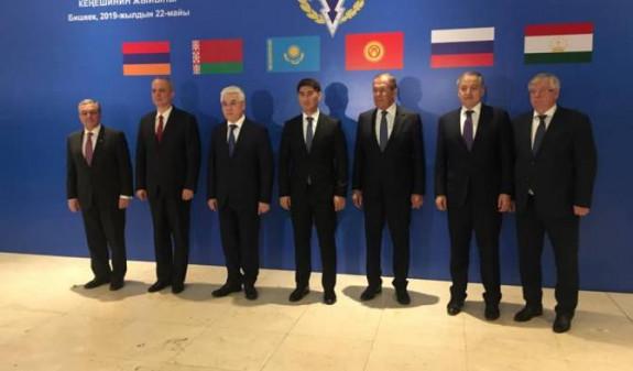В Бишкеке стартовала заседание Совета глав МИД стран ОДКБ