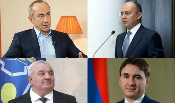 Обращение в Конституционный суд по делу Кочаряна и трех экс-чиновников находится на стадии предварительного изучения - КС
