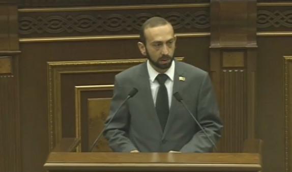 Спикер парламента Армении: судебная власть продолжает попадать под влияние других кругов