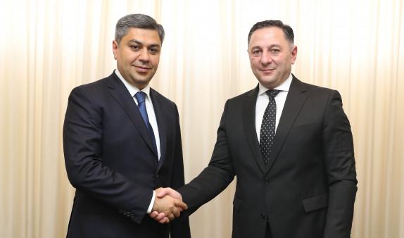 Глава СНБ Армении провел встречу со своим грузинским коллегой