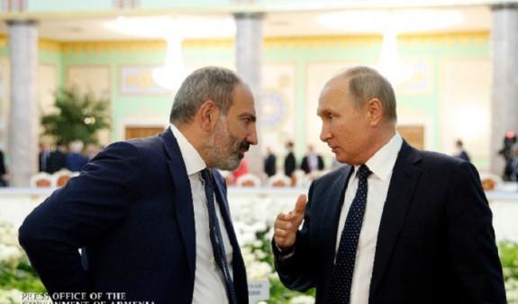 Пашинян и Путин неформально пообщались на полях саммита ЕАЭС в Нур-Султане