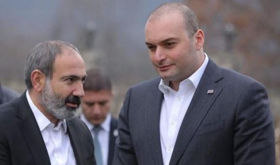 Премьер Грузии поздравил Пашиняна по случаю Дня Первой Республики
