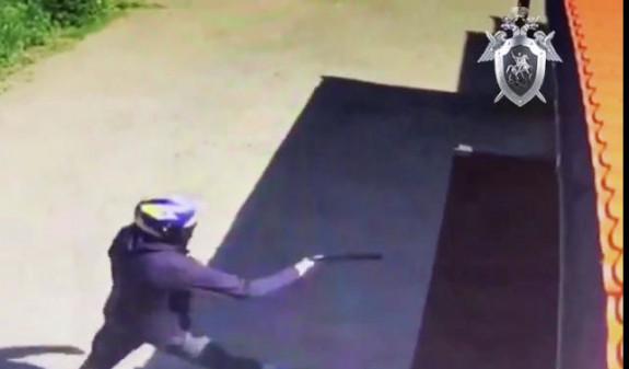 Киллер в шлеме застрелил директора торгового центра в Подмосковье