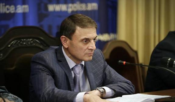Валерий Осипян уволил заместителя главы Дорожной полиции Армении