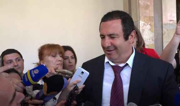 Гагик Царукян прокомментировал свою неявку в Следственный комитет