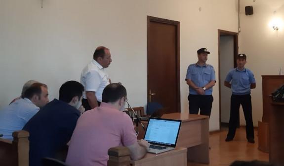 Инцидент произошел на заседании суда по делу Кочаряна(Видео)