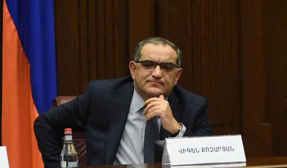 Виген Кочарян принес присягу и вступил в должность члена ВСС
