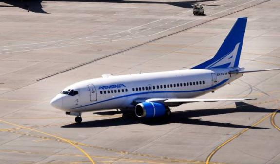 Авиакомпания «Армения» получила разрешение на прямые регулярные рейсы Ереван – Москва – Ереван