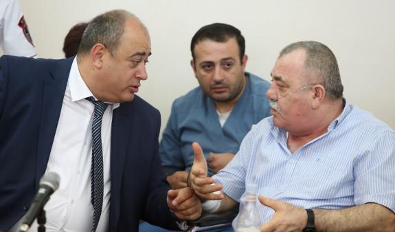 Суд в Ереване оставил под стражей Манвела Григоряна
