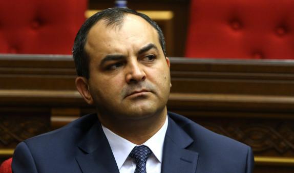 Генпрокурору Армении присвоен классный чин государственного советника юстиции 3 класса