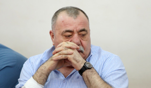 Манвел Григорян не присутствует на сегодняшнем заседании