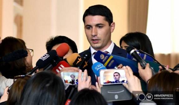 Комиссия по этике возбудила производство в отношении Аргишти Кярамяна