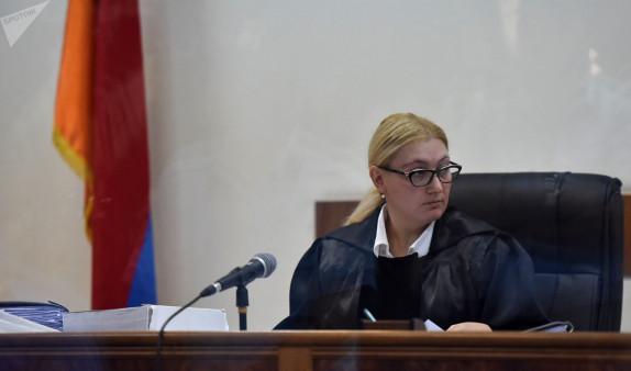 Судья по делу Кочаряна и других Анна Данибекян не заявила самоотвод