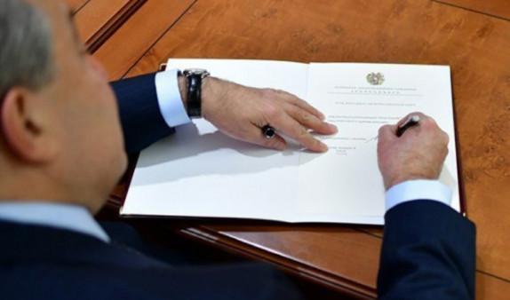 Президент Армении произвел назначение в дипкорпусе страны