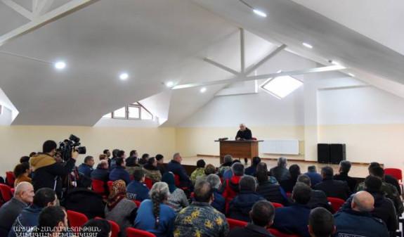 Президент Арцаха посетил Мартакертский район