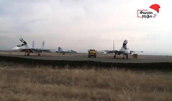 Տեսանյութ. «ՍՈւ 30 ՍՄ» բազմաֆունկցիոնալ գերժամանակակից ինքնաթիռները ժամանում են Հայաստան