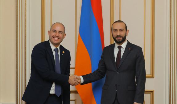 Армения и Мексика задумались об углублении сотрудничества