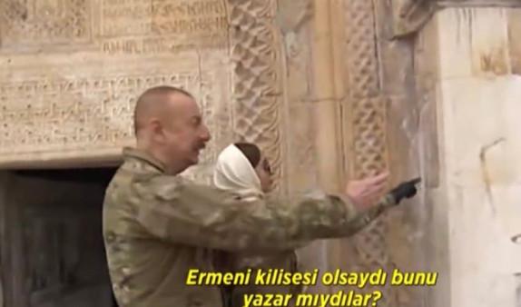 Ալիևը հրամայել է հուշարձանների վրայից ջնջել հայկական գրությունները