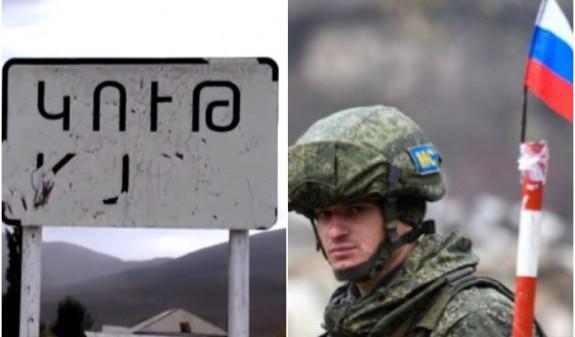 Կութ գյուղում են ռուսական դրոշներով մեքենաները, պաշտոնյաներ. ուղևորվել են դեպի ադրբեջանական դիրքեր, անտեսանելի են, թե որտեղ են հանդիպում
