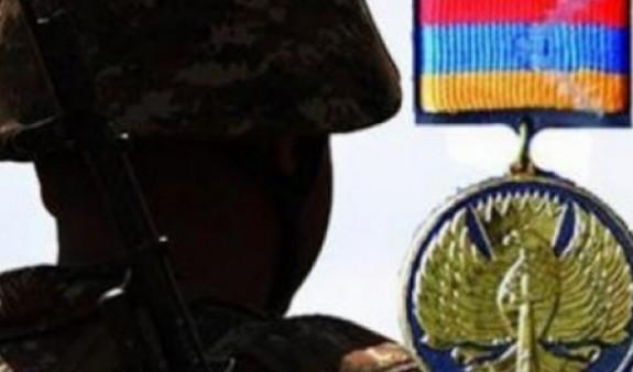 Президент НКР посмертно наградил Вардана Аракеляна медалью «За боевые заслуги»